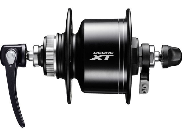 Shimano Deore XT DH-T8000 Nav 3 watt Center-Lock sort (2019) | Hubs